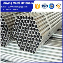 welded thin wall stainless steel round pipe/tube
