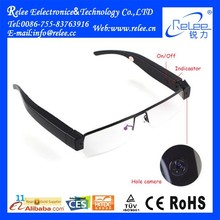 New Arrival Glasses Camera HD Camera Glasses Eyewear Video Mini DV DVR Factory Wholesale