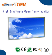 84inch High Brigntness 4K 3840x2160 resolution open frame sunlight readable lcd monitor