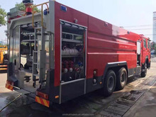 HOWO fire truck manufacture size of fire truck dimension for sale