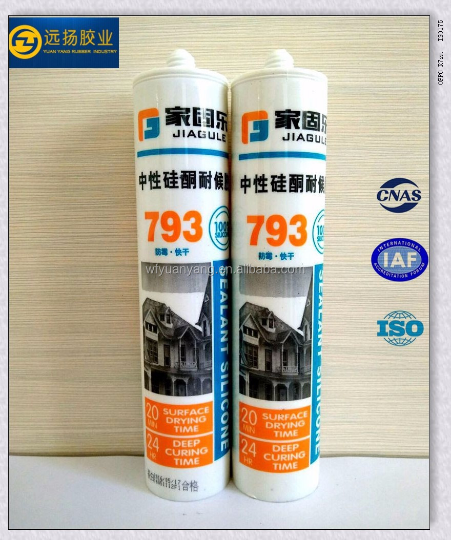 Super Silicone Sealant Clear With Weatherproofing General Purpose