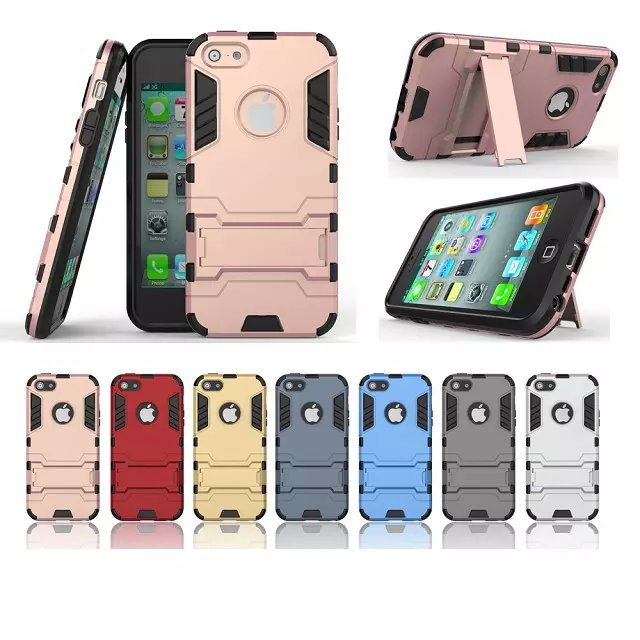 wholesale for iphone 5 5S custom back cover tpu+pc case