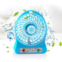 10 X Mini USB Pocket Portable Rechargeable Fan F95B LED Light Made in China