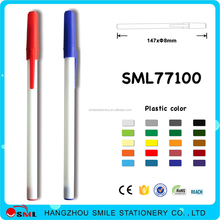ballpoint pen with spray paint covered ultra fine long stylus pen