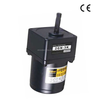 GPG customizable 60mm series ac single phase small electric gear motor