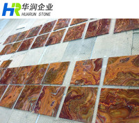 Tiger Red Onyx Floor Tile