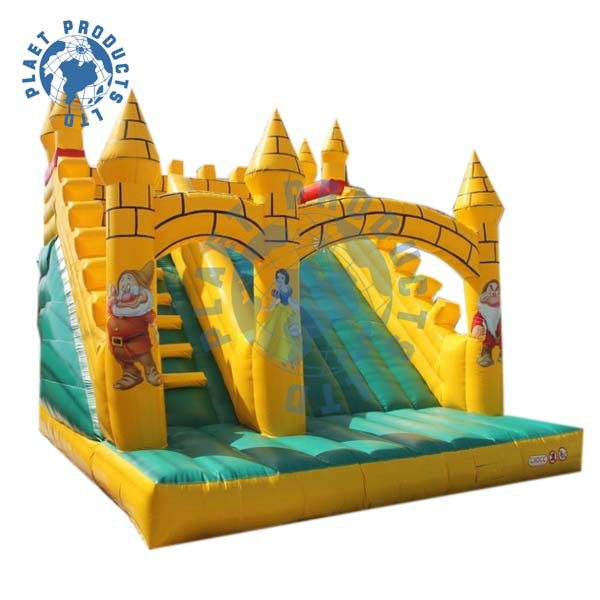 Lovely Inflatable Snow White Slip N Slide (PLG31-056)