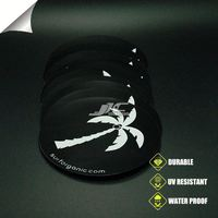 0.12mm water proof vinyl 3d carbon fiber vinyl sticker