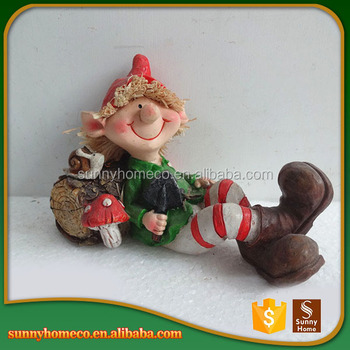 Factory Direct Top Quality Resin Baby Christmas Statues For Gift