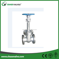Manual operation bolted bonnet long extended stem stainless steel gate valves