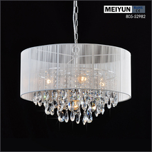 russia poland restaurant metal modern crystal pendant lamp/light