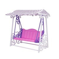 Hot and new designed Swing play set Toys for barbie dolls with ICTI Standard from Dongguan City