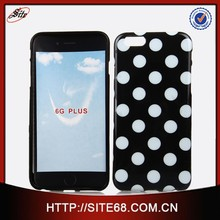 TPU Dot Case Colorful Polka Wave <strong>Point</strong> Style Back Cover for iphone 6 plus cover