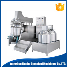 automatic industrial vacuum emulsifying mixer for chemical blending