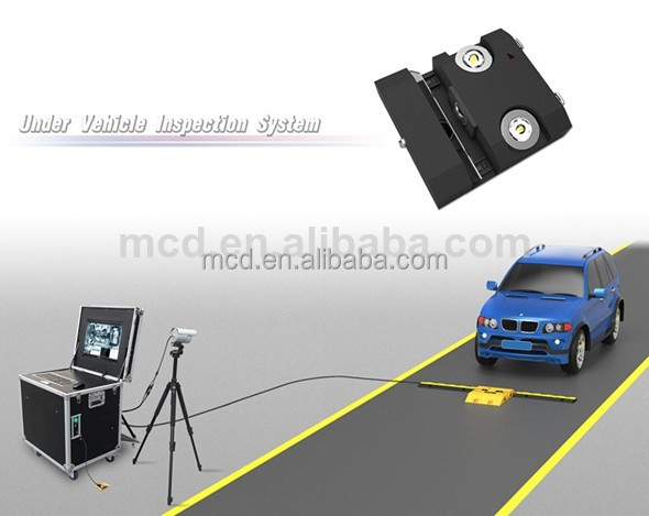 Real-tike Convenient for inspection Stationary type Under Vehicle Security System MCD-V9
