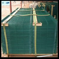 RAL6005 Corrugated Fencing Panel