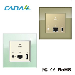 Best reliable design POE 100v/220v in wall AP WiFi Access Point for hotel wifi hotspot