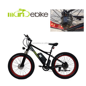 2017 48V 500W hub drive motor and powered strong electric bike/new design electric mountain bicycle