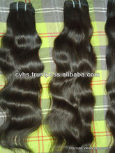 7a 100% no tangle, no shedding virgin Indian hair unprocessed virgin indian hair,