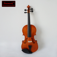 wholesale cheap price plywood violins with nice flame