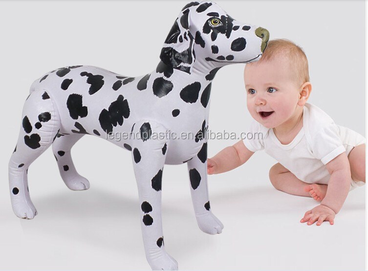 Hot sale pvc Inflatable animal dog