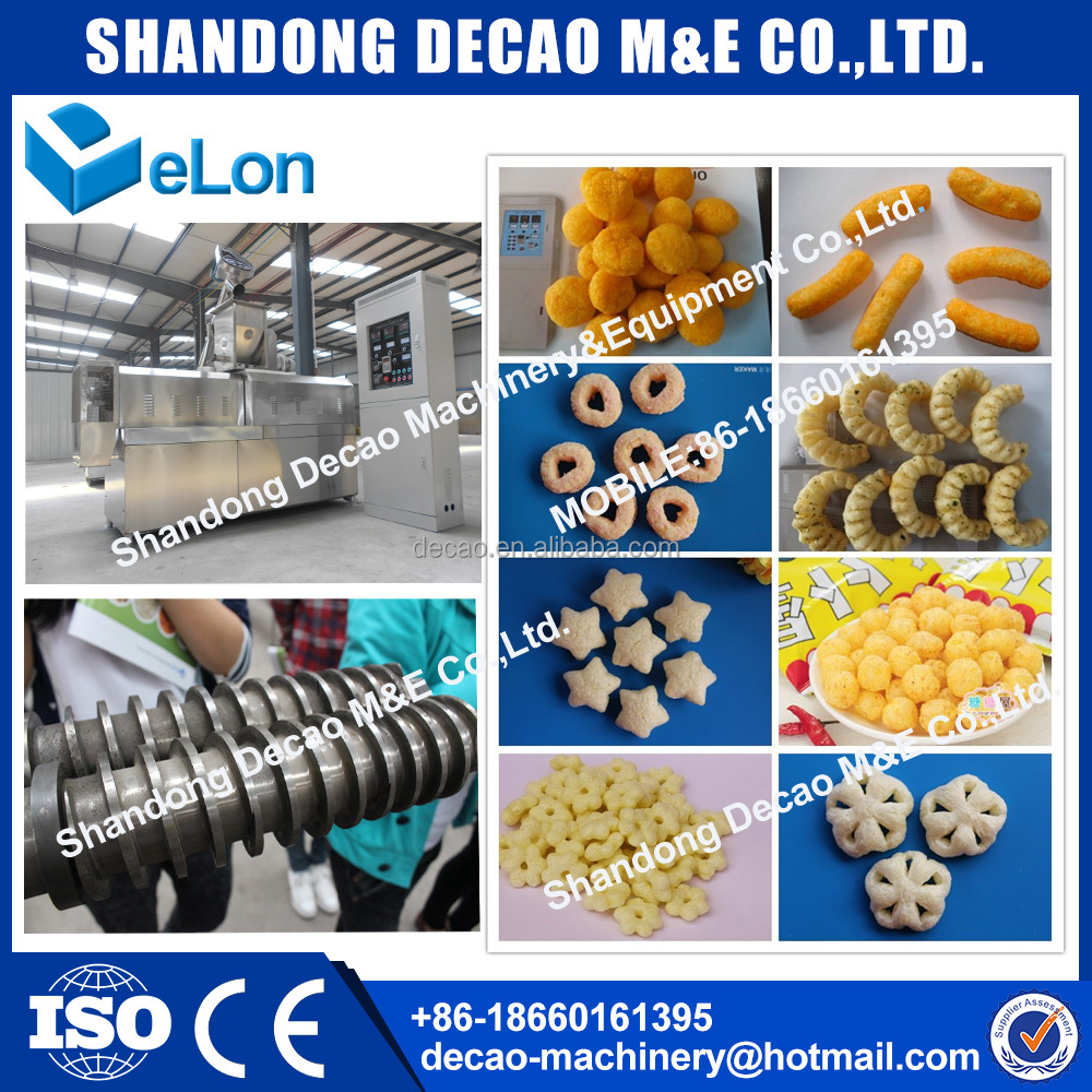 Professional pofak production line food processing industries