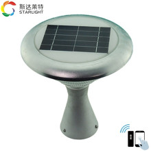 Modularization changeable color intelligent control high end solar garden light