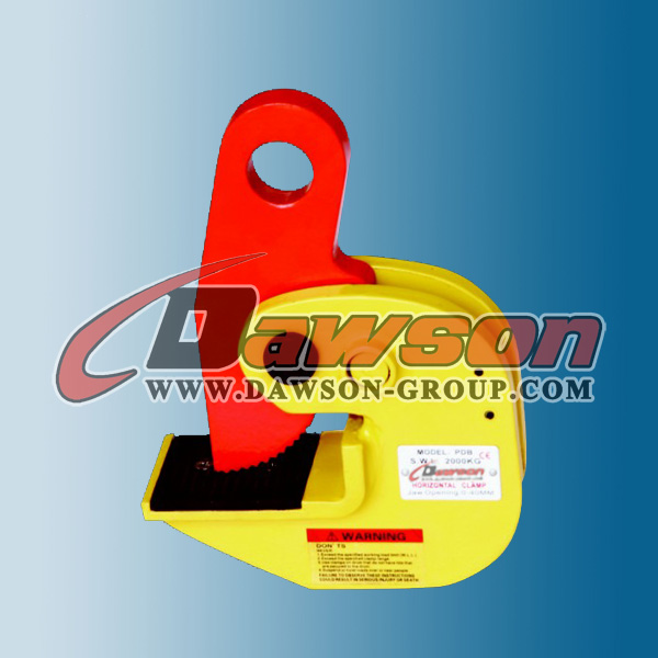 Lift Equipment Vertical Horizontal Plate Clamp with Lock Handle