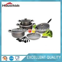 Multifunctional morden kitchen cookware cast iron cookware for wholesales HS-CJS006