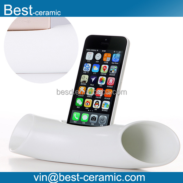 ceramic sound acoustic speaker for cell phone music
