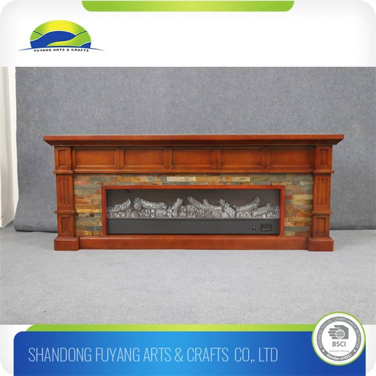 European Style Artificial Wood Fireplace
