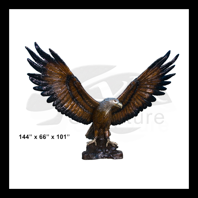 High Quality bald eagle carvings