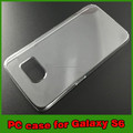 High quality PC clear cell phone case for samsung galaxy s6
