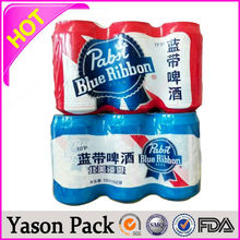 YASON plastic shrink wrap water bottle labels heat pvc sleeves made in china label shrink laundry detergent