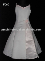 white high neck baby gown sleeveless first communion dress stores for Birthday Dresses