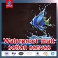 High Quality Waterproof Matte 100% Cotton Canvas 300gsm