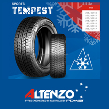 Altenzo brand winter tire discount 195/65R15 sports tempest car tyre