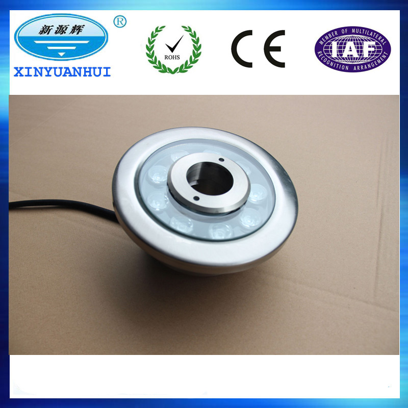 wholesale stainless steel led fountain nozzle light