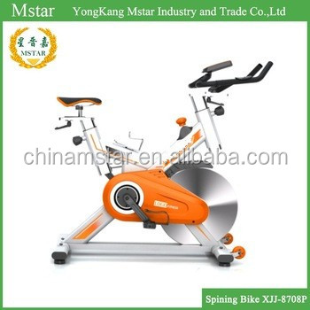 Indoor Cycling Exercise Best Selling Spin Bike orange Fitness
