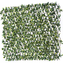 outdoor willow trellis fence decoration