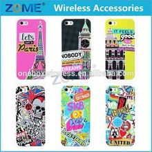 Factory Price Cell Phone Case Cute Pattern TPU Soft Case Silicone Gel Skin Cover For Samsung Galaxy S5