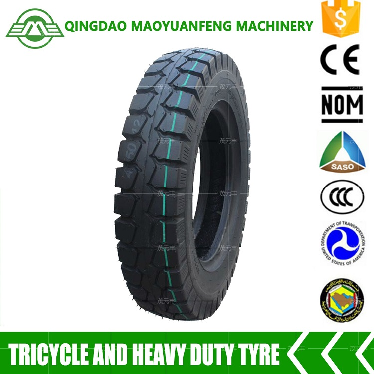 China factory wholesale motorcycle tyre 4.50-12 for three wheelers