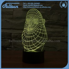FS-2892 Auto light 3d illusion baby night light projector festival home deco led night light