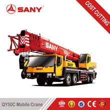 SANY QY50 50 Tons Used Truck Mounted Crane of 2011 Year Used Mobile Crane