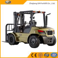 Chinese UN 8 Ton Diesel Forklift With Isuzu Engine