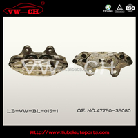 best price iron casting Brake caliper J4775035080 Auto car part for VW