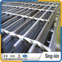 China Manufacturer ISO9001 Cheap Stair Treads Steel Grating Weight