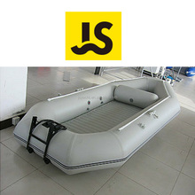 Air floor boat with motor bracket inflatable fishing boat