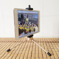 Strong quality Tripod Mount Adapter Universal Tablet Clamp Holder for iPad mini
