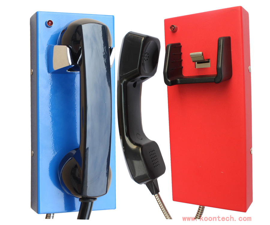 Dispatch and management system KNZD-14 auto dial NO buttons emergency telephone Public phone